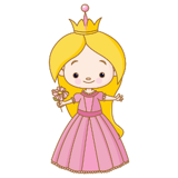 wallstickers-prinsesse